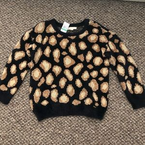 Michael Kors Cheetah Print Sweater